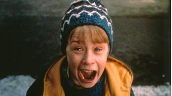 Macaulay Culkin in una scena di Mamma ho perso l'aereo