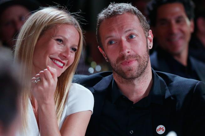 Gwyneth Paltrow e Chris Martin ai tempi del loro amore