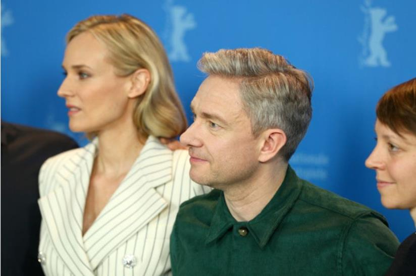 Martin Freeman e Diane Kruger a Berlino 69 con The Operative