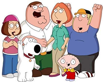 La famiglia Griffin in un'immagine promozionale