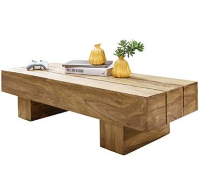 Tavolino da caffè in Legno di Acacia