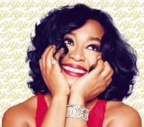 Shonda Rhimes in un'immagine promozionale per il suo libro l'anno del sì