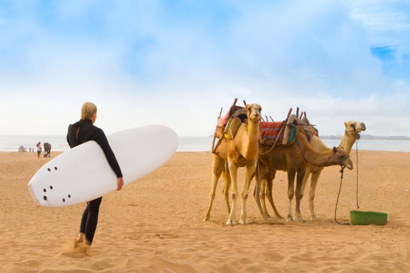 La spiaggia di Essaouira