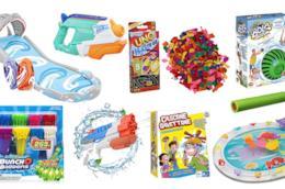 I migliori giochi ad acqua da fare in estate con i tuoi bambini