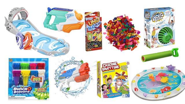 I migliori giochi ad acqua per bambini