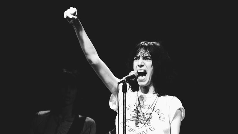 La cantante Patti Smith