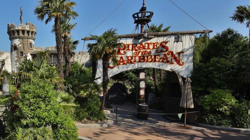 Attrazione di Disneyland