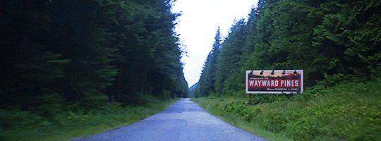 Entrata di Wayward Pines