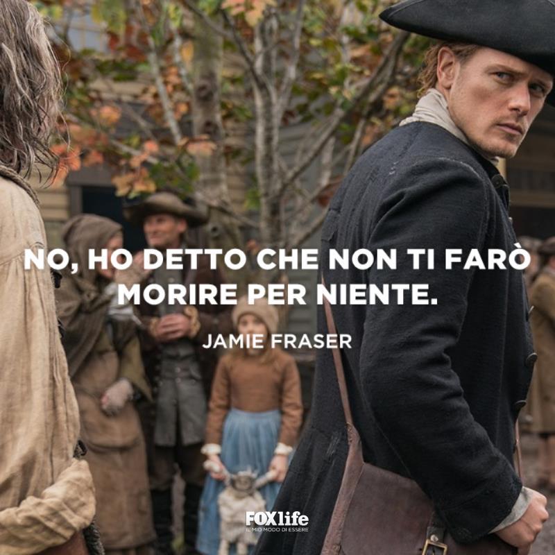 Jamie si volta