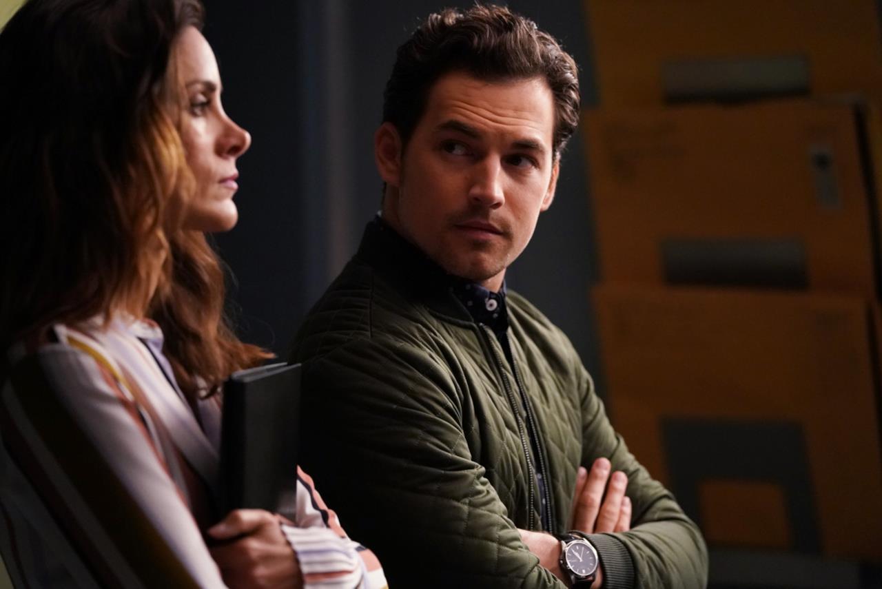 Stefania Spampinato e Giacomo Gianniotti in Grey's Anatomy 14