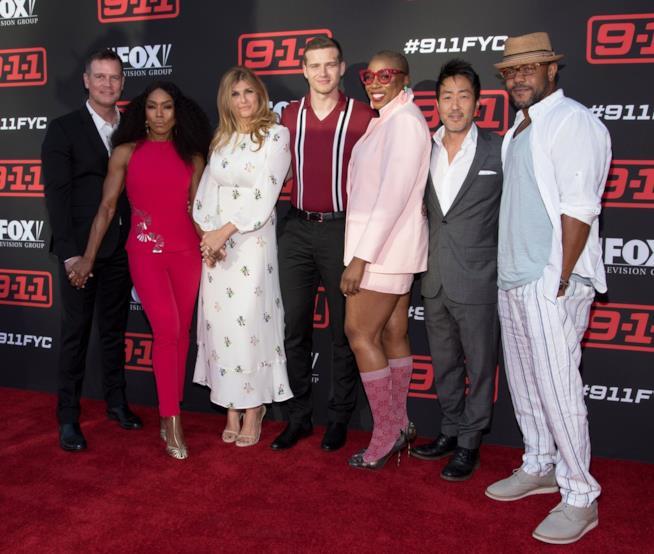 911: un'immagine del cast all'evento FYC