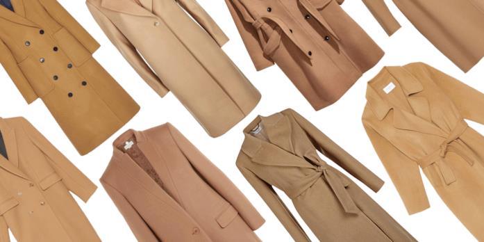 Vari tipi di cappotto cammello