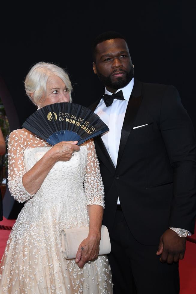 Un divertente scatto di Helen Mirren e 50 Cent