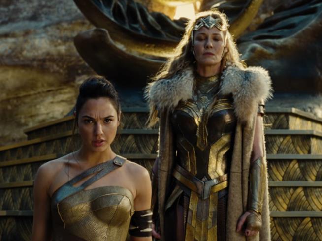 I costumi delle Amazzoni in Wonder Woman
