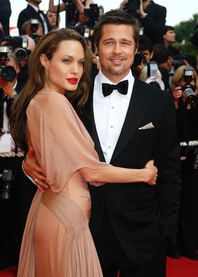 Brad e Angelina sul red carpet