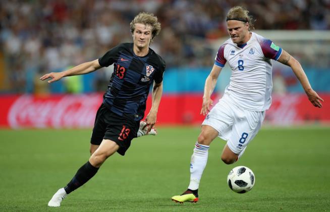 Birkir Bjarnason odurante i Mondiali