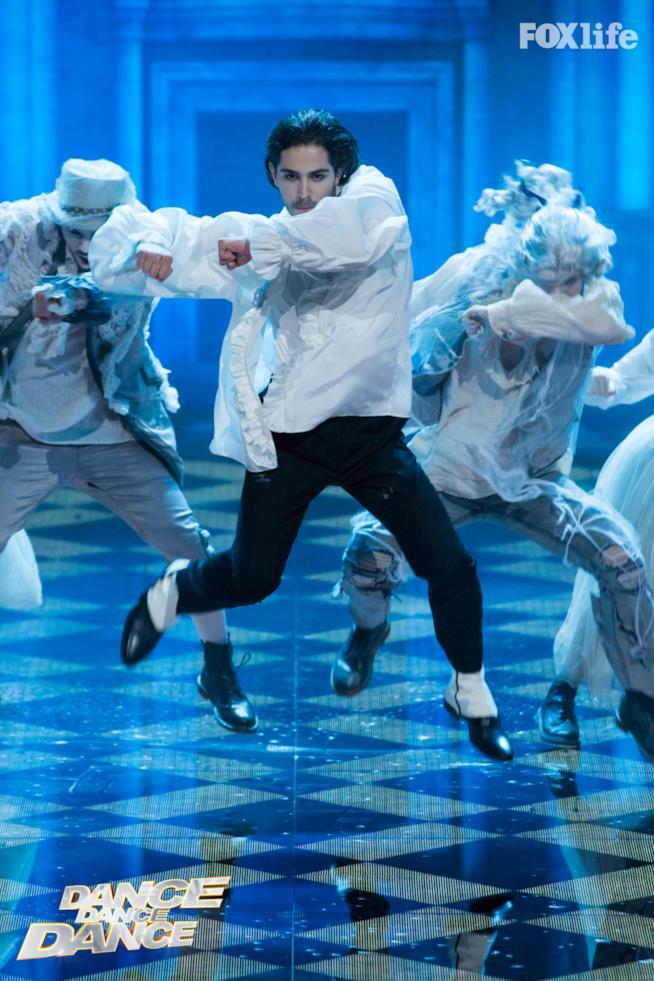 Tommaso Zorzi, esibizione ottavo serale Dance Dance Dance 2