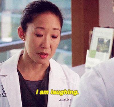 Il sarcasmo di Cristina in Grey's Anatomy