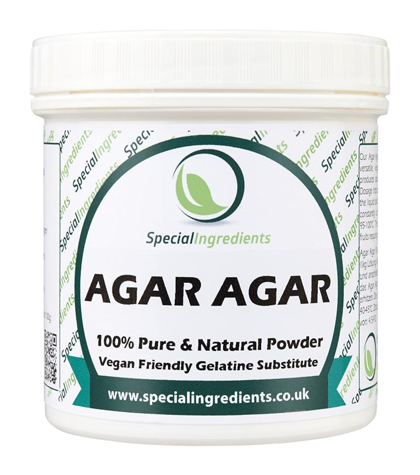 Confezione di Agar Agar in polvere
