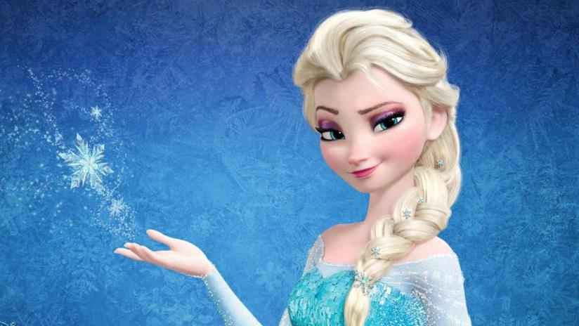 Il personaggio di Elsa in Frozen
