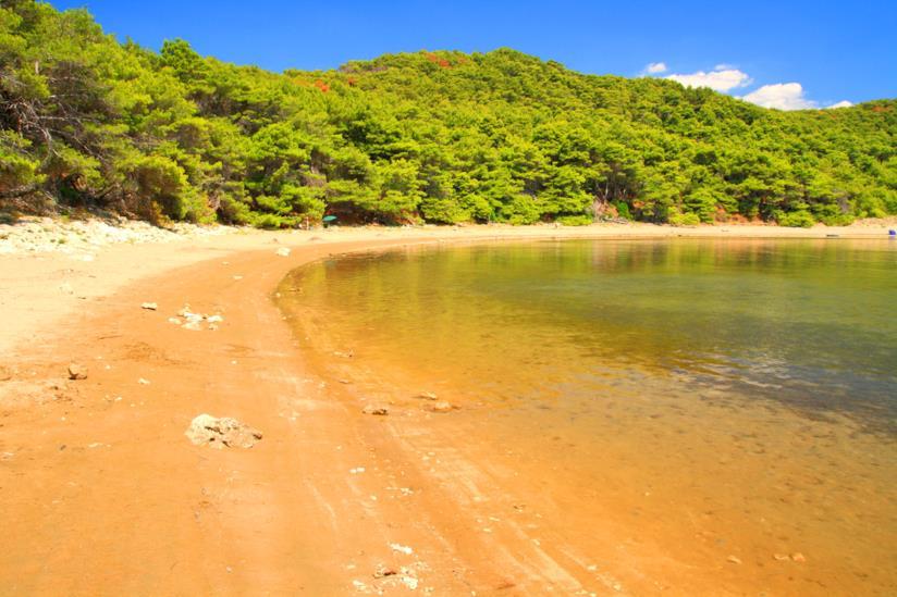 Spiaggia di Saplunara, Isola di Mljet
