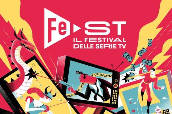 La locandina del Festival delle serie TV