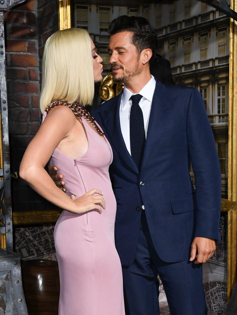 Katy Perry e Orlando Bloom sul red carpet