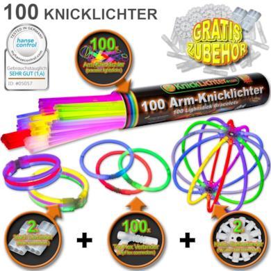 100 Lightstick 7 colori