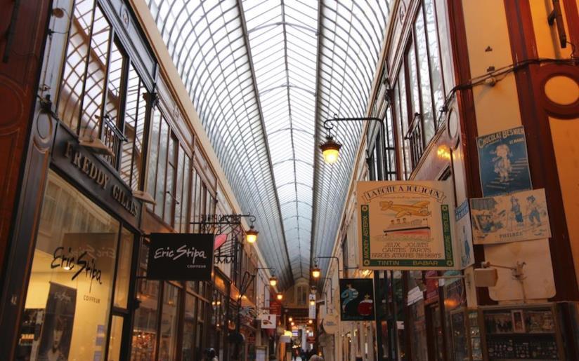 Passage Verdeau - Hotel Chopin