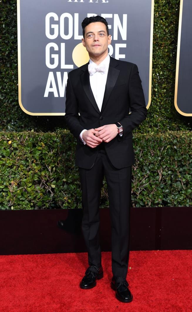 Rami Malek ai Golden Globes