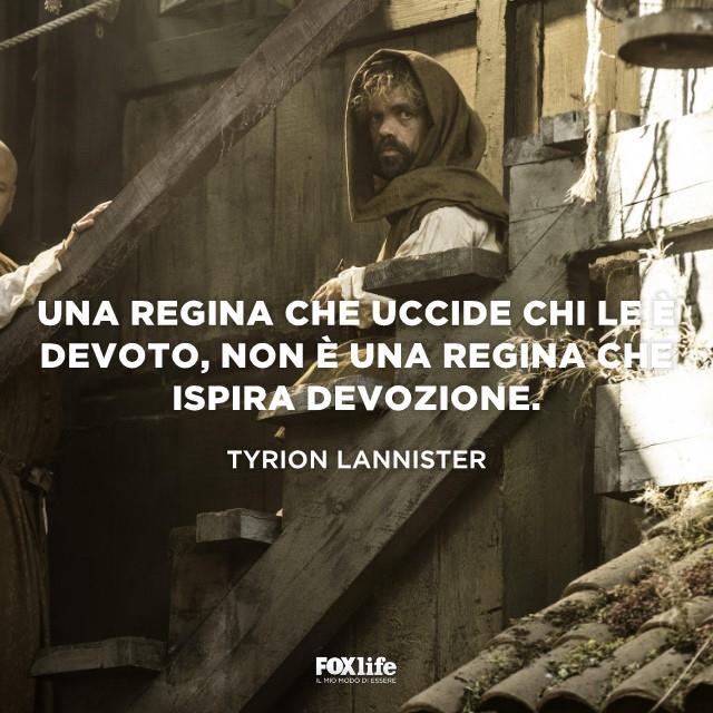 Tyrion Lannister incappucciato