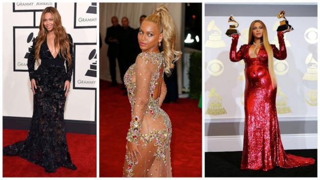 Il look di Beyoncé oggi