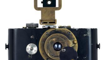 La prima Leica, costruita da Oskar Barnack e completata nel 1914
