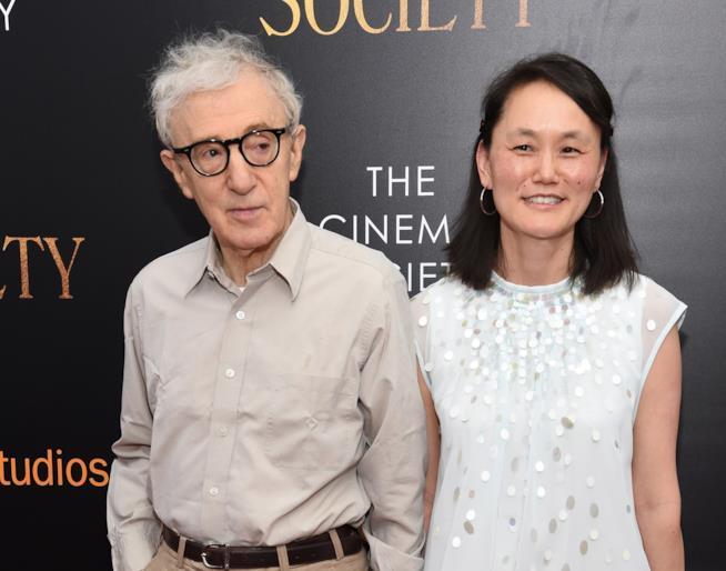 Woody Allen e la moglie Soon-Yi Pervin