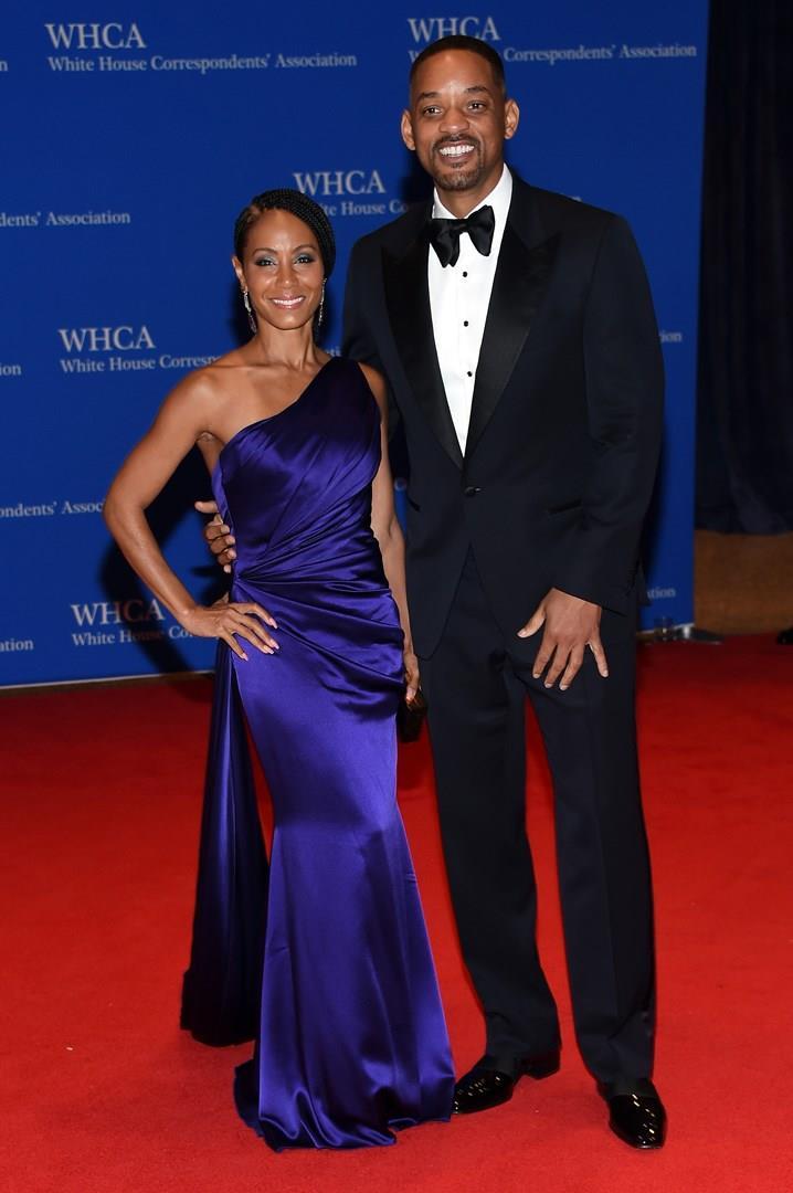 Will Smith e Jada Pinkett Smith sul red carpet