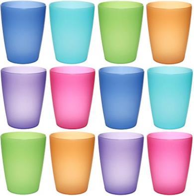 NEO bicchieri di plastica da 250 ml riutilizzabili