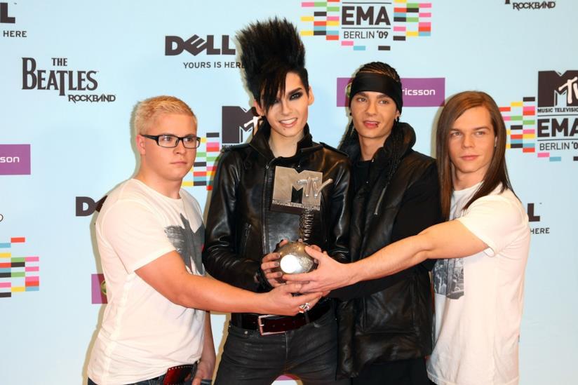 I Tokio Hotel nel 2009