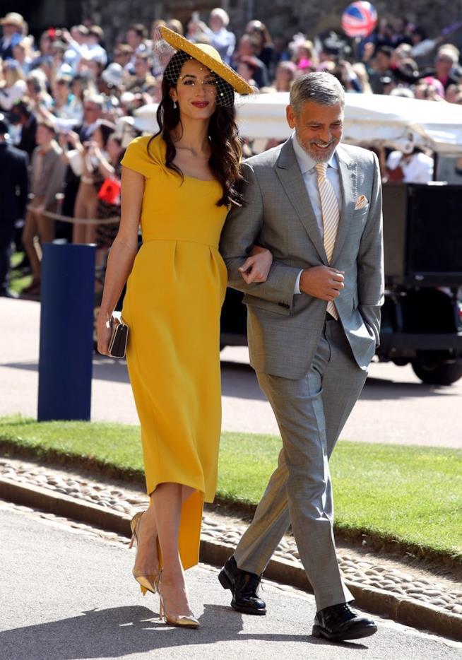 Amal e George Clooney al Royal Wedding
