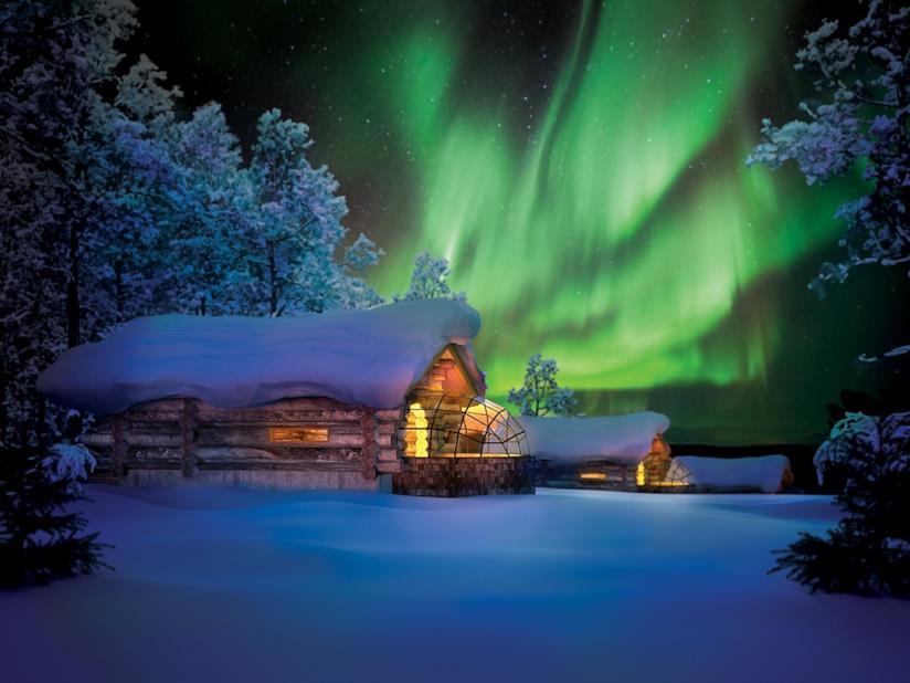 Hotel di ghiaccio finlandese