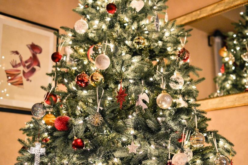 Decorazioni luminose per l'albero