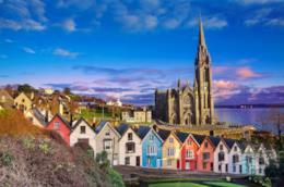 I colori e le architetture di Cobh