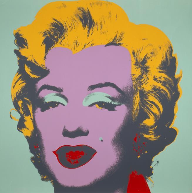 Marilyn Monroe (Marilyn) di Andy Warhol