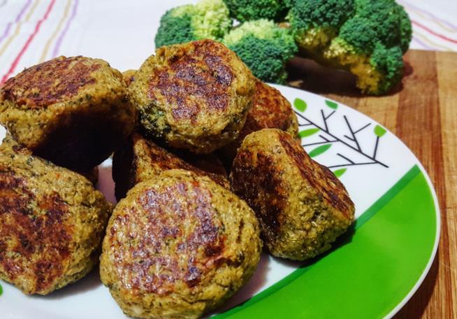 Palline di broccoli al forno