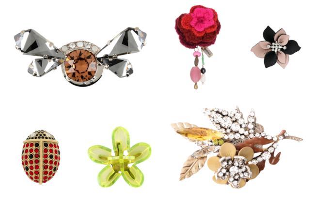 Spille colorate ed eleganti di moda per l'A/I 2018-19