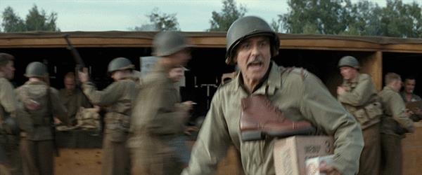 George Clooney in Monuments Men