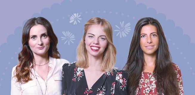 Le tre madrine-blogger de Le Amiche di Matilde