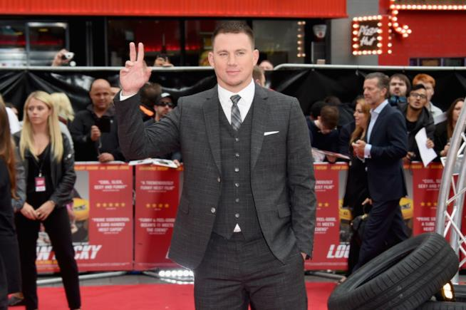 Channing Tatum sul red carpet