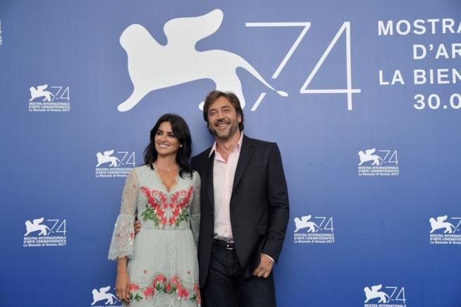 Penelope Cruz e Javier Bardem a Venezia 74