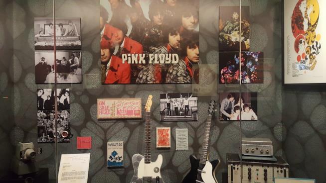 Alcuni cimeli dei Pink Floyd
