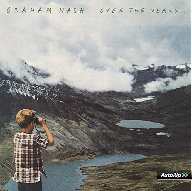 La copertina di Over The Years..., con un bambino che guarda il panorama, tra montagne e laghi